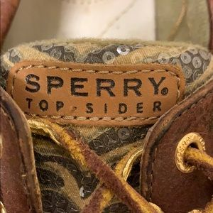 Sperry Shoes - Cheetah print Sperry Top-siders